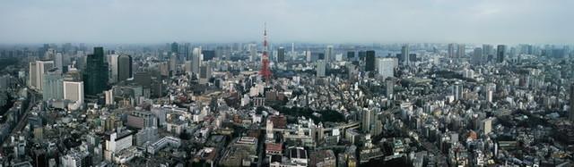 东京,它美丽的城市