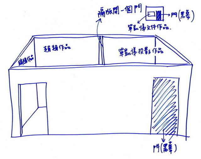 單凱悌+赵赵的空間圖