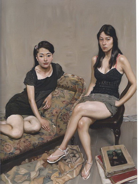 油画院学员与专职模特之三