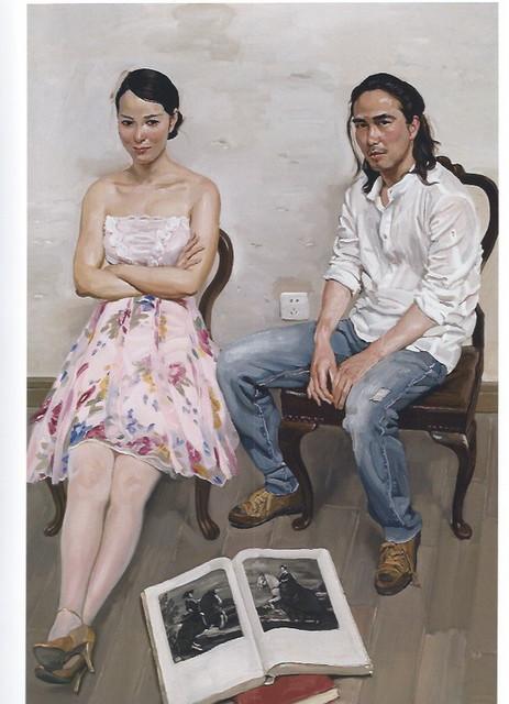 油画院学员在墙角边之三