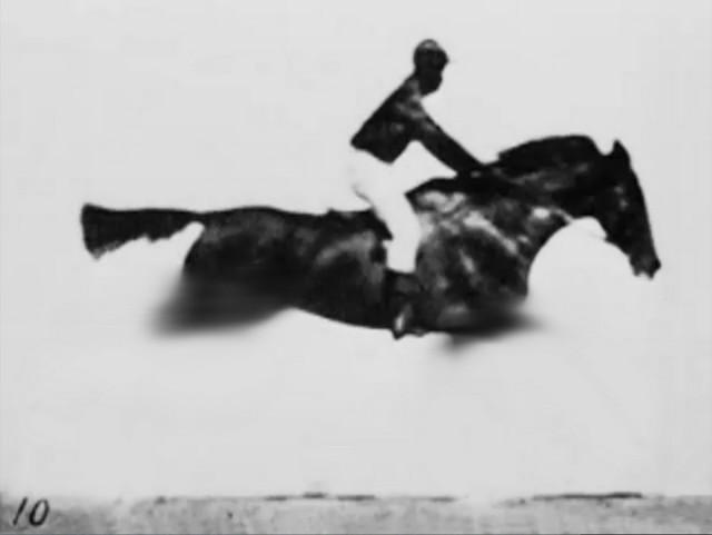 世界上第一部电影,关于赛马的赌博