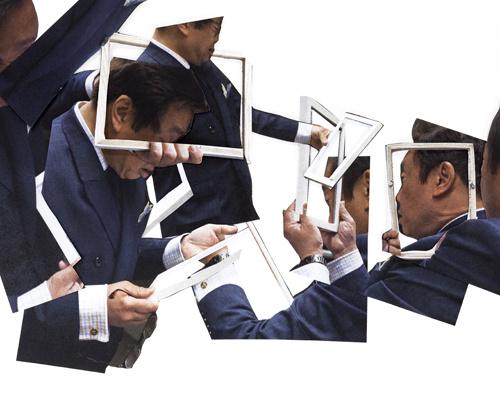 像素—压力系列——相框幻象