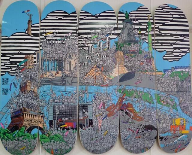 巴黎滑板地图