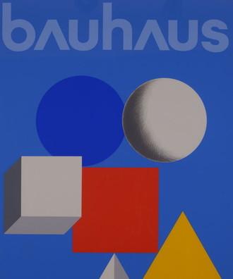 """展览海报""""包豪斯五十年"""""""