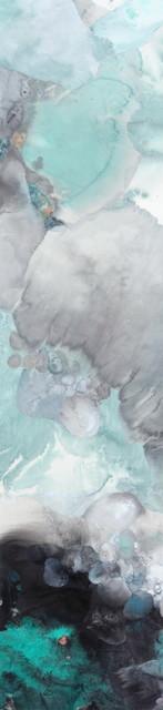 墨魂#1706  181cm×40cm 纸本设色 2017