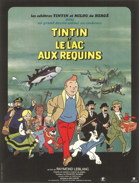 《丁丁历险记》法文原版海报.1