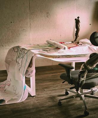 蔡玉水 《双泉十年》  99.84平方千米 电影、雕塑、绘画  2009-2019年